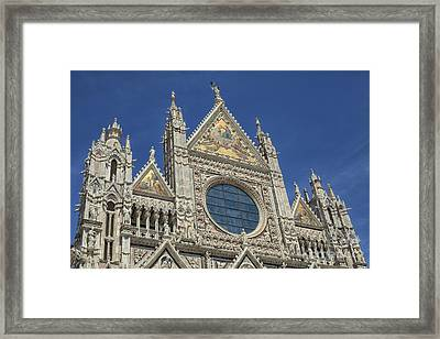 Duomo In Sienna, Italy Framed Print by Patricia Hofmeester
