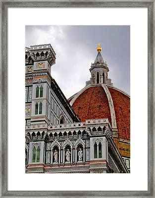 Duomo Framed Print by Lynn Andrews