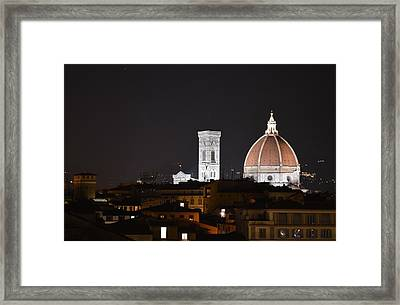 Duomo Up Close Framed Print