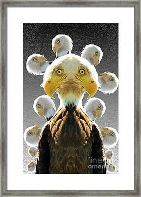 Duplicity Framed Print by Ron Bissett