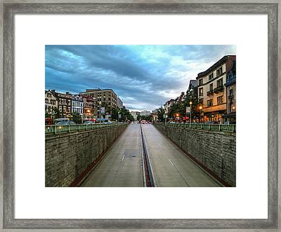 Dupont Circle Framed Print