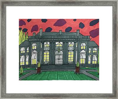 Dupont Family Mansion. Framed Print by Jonathon Hansen