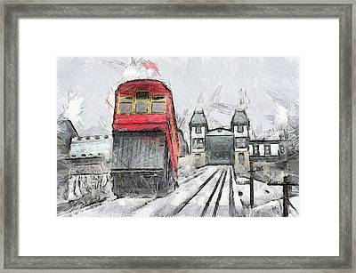 Duquesne Incline Framed Print by Matt Matthews