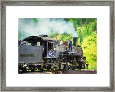 Durango And Silverton 480 Framed Print