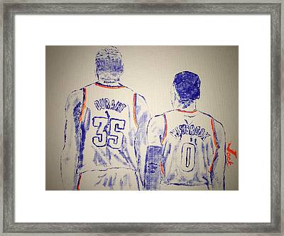 Durant And Westbrook Framed Print by Jack Bunds