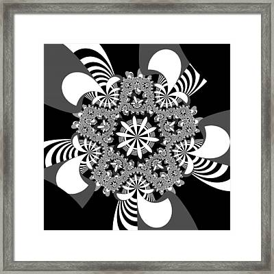 Durbossely Framed Print