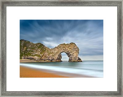 Durdle Door 1 Framed Print