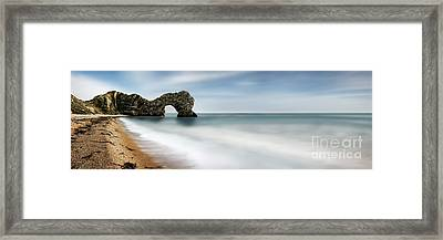 Durdle Door Framed Print by Rod McLean