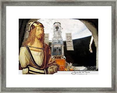 Durero At The Atlantis  Framed Print