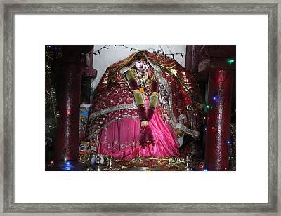 Durga Temple Near Kainchi Framed Print by Jennifer Mazzucco