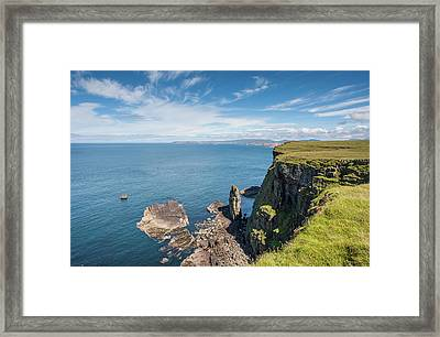 Handa Island - Sutherland Framed Print by Pat Speirs