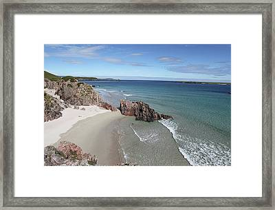 Framed Print featuring the photograph Durness - Sutherland by Pat Speirs