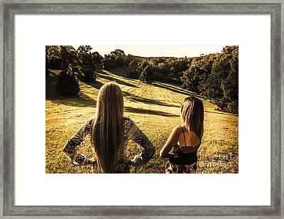 Dusk And Summer Framed Print by Jorgo Photography - Wall Art Gallery