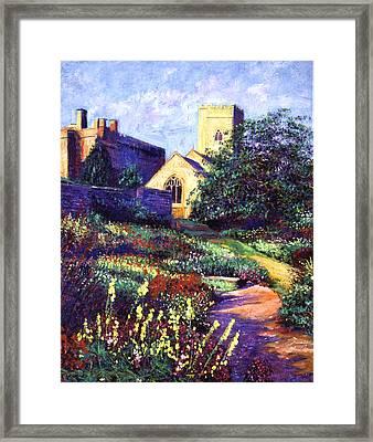 Dusk At The Abbey Framed Print