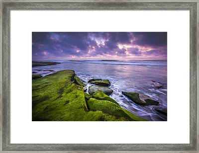 Dusk Calm Framed Print