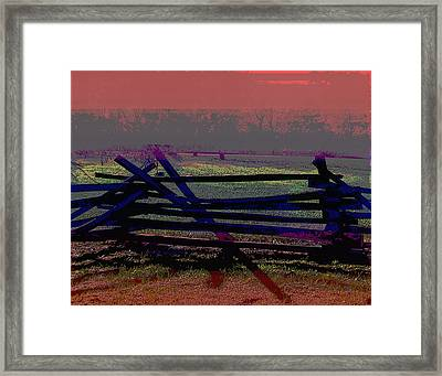 Dusk Framed Print by Gerlinde Keating - Galleria GK Keating Associates Inc