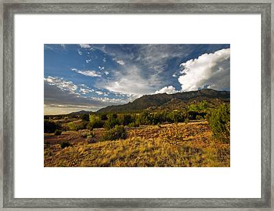 Dusk In The Desert Framed Print by Matt Tilghman