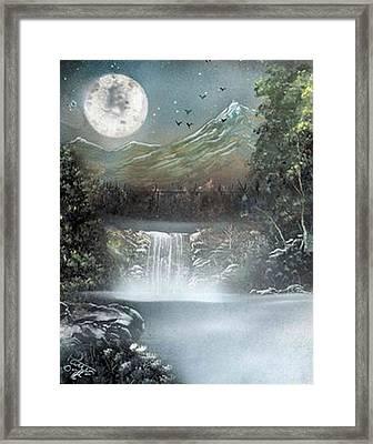 Dusk Framed Print by My Imagination Gallery