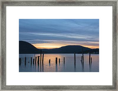 Dusk Sentinels Framed Print