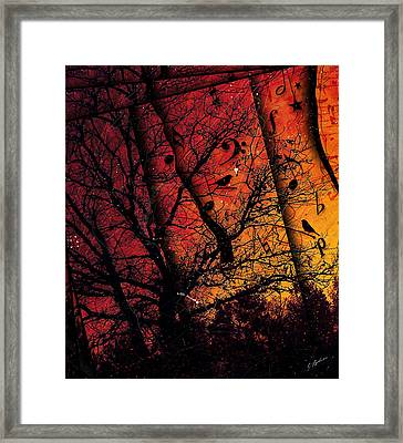 Dusk Song Framed Print