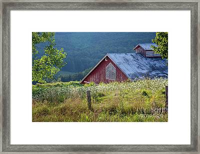 Dusk View Framed Print by Susan Cole Kelly