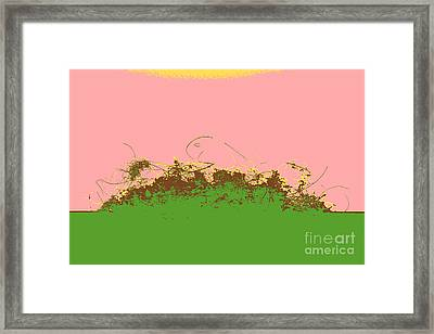 Dust Bunny In Colors Framed Print by Sverre Andreas Fekjan