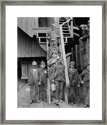 Dust Covered Breaker Boys Framed Print by Everett