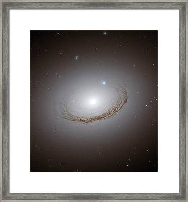 Dust Lanes Of A Globular Cluster Galaxy  Framed Print by Jpl