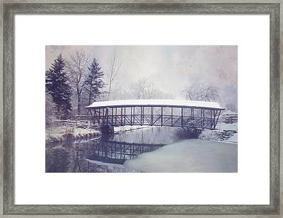 Dust Of Snow Framed Print