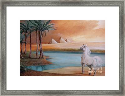 Dust Storm Framed Print by Corey Ford