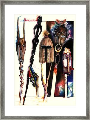 Dust To Dawn Framed Print by Anthony Burks Sr