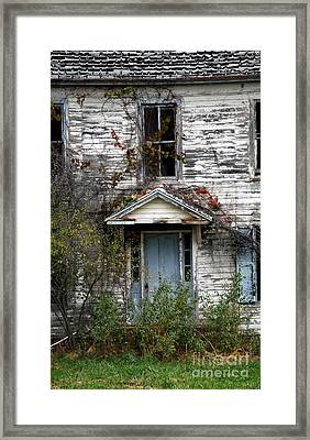 Ghosts In The Attic Framed Print