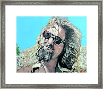 Dusted By Donny Framed Print by Tom Roderick