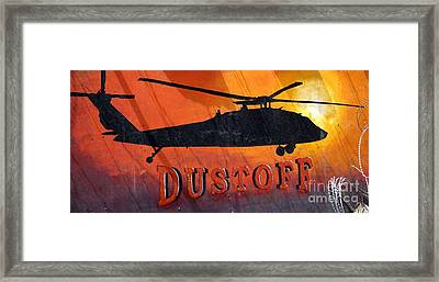 Dustoff Framed Print by Unknown