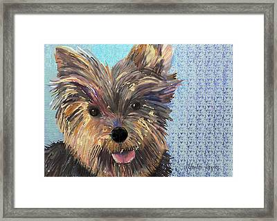 Dusty Framed Print by Arline Wagner
