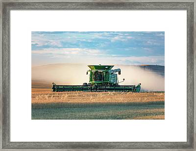 Dusty Deere Framed Print by Todd Klassy