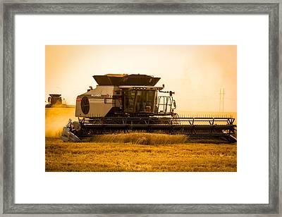 Dusty Harvest Framed Print by Jay Stockhaus
