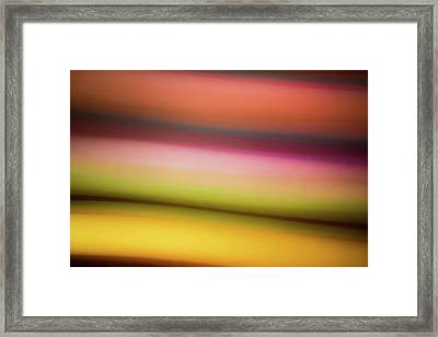 Dusty Sunset Framed Print