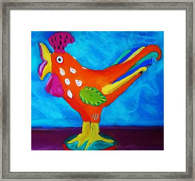 Dusty's Chick Framed Print