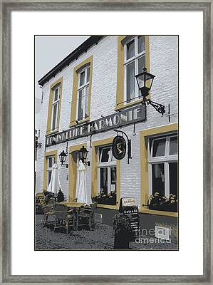 Dutch Cafe - Digital Framed Print