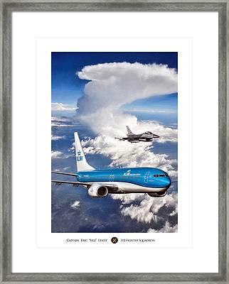 Dutch Duo Framed Print