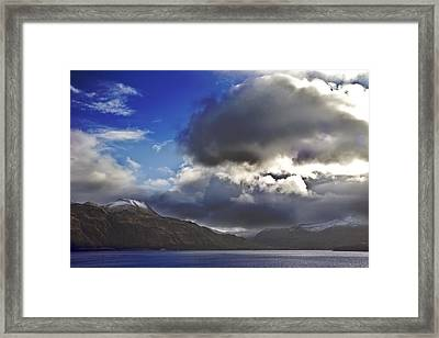 Dutch Harbor Framed Print by Wes Shinn