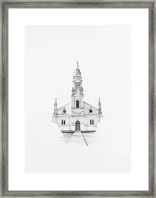 Dutch Reformed Church Pearston Framed Print
