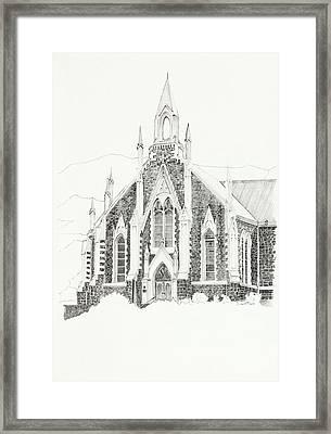 Dutch Reformed Church Piketberg Framed Print