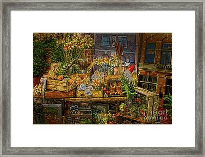 Dutch Shop Framed Print
