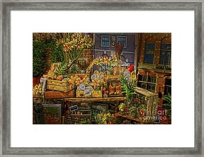 Dutch Shop Framed Print by Sandy Moulder