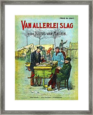 Dutch Smoking Pipes 1881 Framed Print