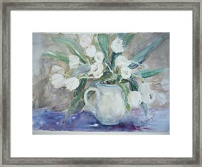 Dutch Tulips Framed Print by Dorothy Herron