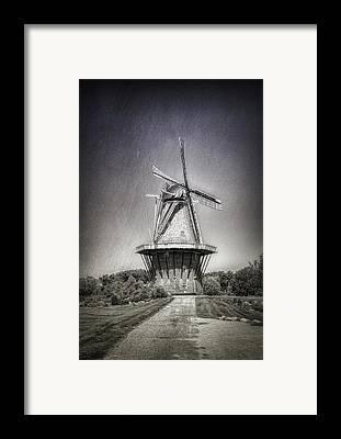 Windmills Framed Prints
