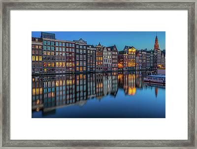 Dutch Windows Framed Print by Reinier Snijders
